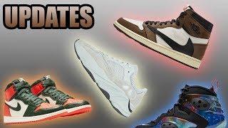 Travis Scott Cactus Jack Jordan 1 Wider Release Date | Yeezy 700 Salt | Sneaker Updates 25