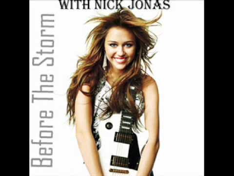Baixar Before the Storm - Miley Cyrus with Nick Jonas (2009 FULL SONG + LYRICS)