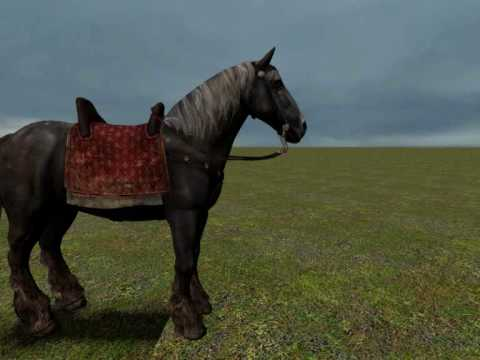 Gmod Crussaria Rideable Horse Test Youtube