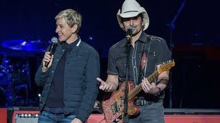 Ellen Degeneres joins Brad Paisley in 2nd Responders