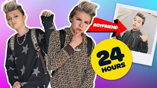 SWITCHING LIVES with my BOYFRIEND **24 Hour Challenge** 🔄   Piper Rockelle