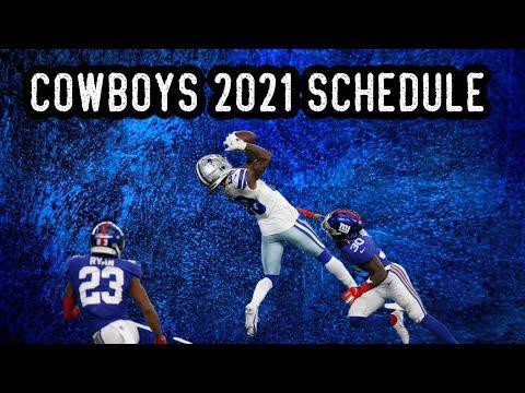 Dallas Cowboys 2021 schedule release and season prediction