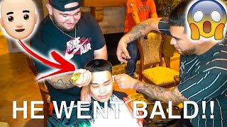We Shaved A Fans Head In Houston Texas!!! 🤣🤣 ** FUNNY**