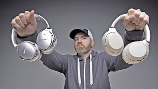 The Best Noise Cancelling Headphones... Bose or Sony?