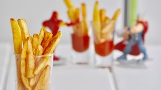How to make Perfect Home Made French Fries -Recipe no 131