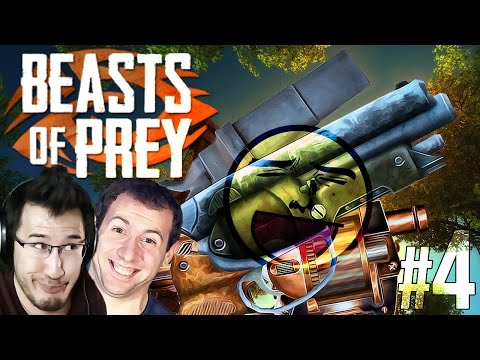 T-REX GUNSPLOSION!! (we win the game) | Beast of Prey - Part 4 - Markiplier  - cRVPAPzmDuI -