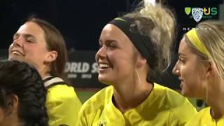 Highlights: Oregon softball's Miranda Elish pitches perfect game with career-high 16 strikeouts