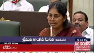 War of Words between DK Aruna, Sunitha in T Assembly..
