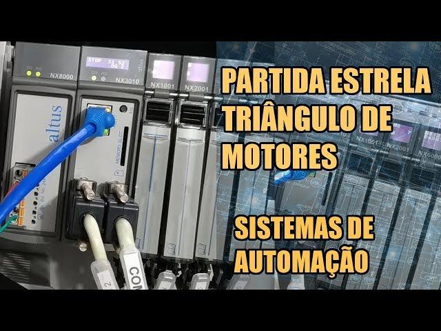 PARTIDA ESTRELA TRIÂNGULO DE MOTORES TRIFÁSICOS | Sistemas de Automação #006