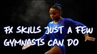 Gymnastics - 6 Amazing Floor Skills Only a Few Gymnasts Compete