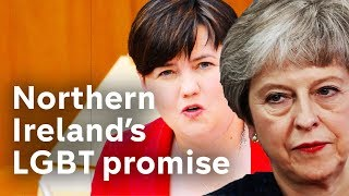 Ruth Davidson to go back to Theresa May over LGBT promise for Northern Ireland
