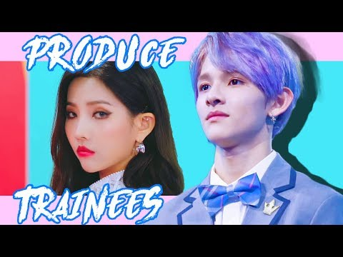 The Most Talented PRODUCE Trainees (non winning ver.)