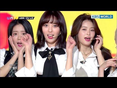 UNI+G's Team Yellow - Heart Attack (Original : AOA) [The Unit/2018.01.04]