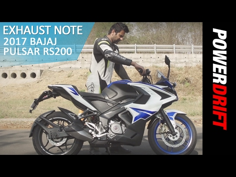 Bajaj Pulsar RS200 (2017) : Exhaust Note : PowerDrift