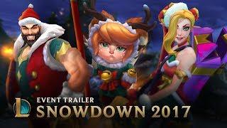 League of Legends - Snowdown 2017 Event Trailer