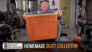 Watch the Trade Secrets Video, Homemade dust collector