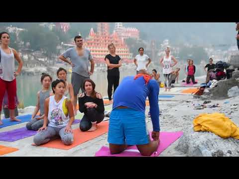 How to do Camel Pose - Yoga Teacher- Rishikesh  India