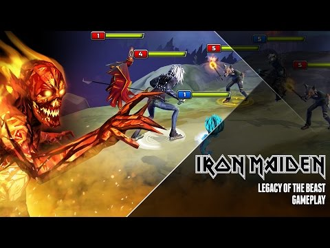 Il trailer di 'Iron Maiden Legacy of the Beast'