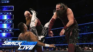 The Bludgeon Brothers vs. local competitors: SmackDown LIVE, Feb. 6, 2018