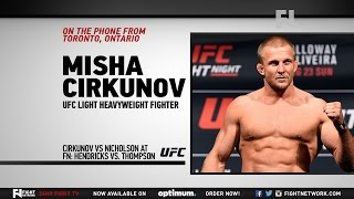"UFC Fight Night Las Vegas: Misha Cirkunov - ""There is Nothing Like the UFC"""