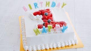 【PK1周年】BIRTHDAY CAKE ~バースデーケーキ ~ How To Make【料理レシピはParty Kitchen🎉】