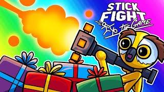 Stick Fight Funny Moments - Santa Loves Vanoss!