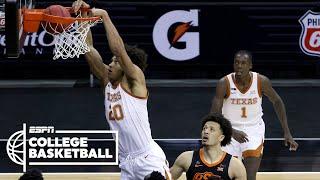 Texas beats Cade Cunningham, OK State to win Big 12 final [HIGHLIGHTS] | ESPN College Basketball