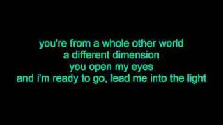 tyler ward - ET lyrics