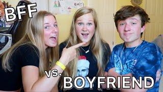 WHO KNOWS ME BETTER ?? - BOYFRIEND vs. BESTFRIEND