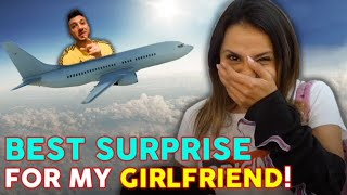 I SURPRISED MY GIRLFRIEND ON HER DREAM VACATION!! (She Had No Idea!) | The Royalty Family
