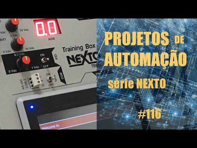 AUTOMAÇÃO DE MÁQUINA DE COSTURA INDUSTRIAL COM CLP NEXTO (parte 3) | Projetos de Automação #116