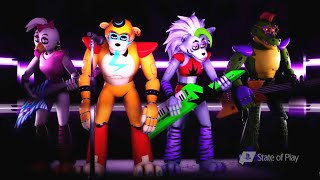 Five Nights at Freddy's: SECURITY BREACH ALL TRAILERS 1, 2, 3