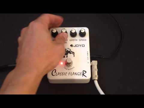 Joyo Classic Flanger JF-07 Pedal Review Demo