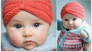 KNITTING TUTORIAL - BABY TURBAN
