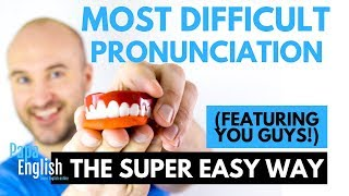 Most Difficult Words to Pronounce! (Featuring YOU GUYS!)