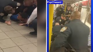 Critics say NYPD went too far in 2 subway incidents in Brooklyn