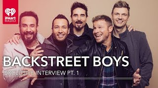 "Backstreet Boys Talk New Album ""DNA"" 