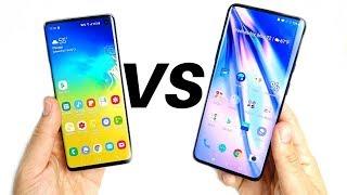 Samsung Galaxy S10 vs OnePlus 7 Pro