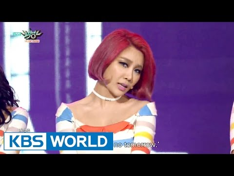 Brown Eyed Girls - Warm Hole (웜홀) / Brave New World (신세계) [Music Bank COMEBACK / 2015.11.06]