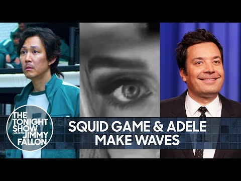 Still Thinking About Squid Game, Adele Isn't Going Easy on Our Hearts | The Tonight Show
