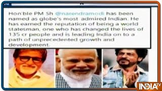Has PM Modi Outvoted Amitabh, Salman, Shah Rukh as Globe's..