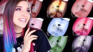 Kokie Cosmetics Sally Beauty Exclusive Nail Polish Swatches!    KELLI MARISSA