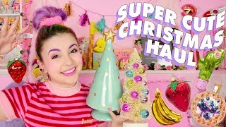 ♡ CUTE N' COLOURFUL CHRISTMAS HAUL ♡