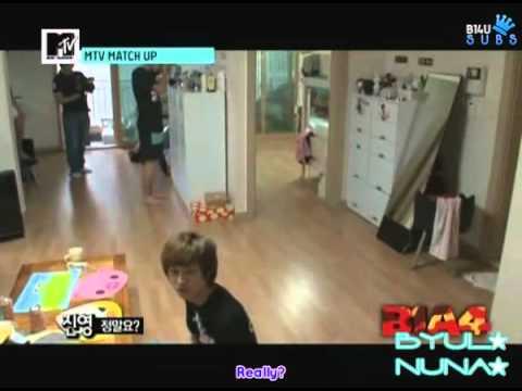 (B14U Subs) [110622] MTV Match Up Episode 1 B1A4 Cuts.avi