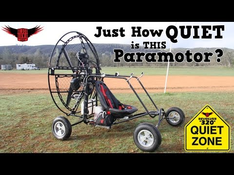 How QUIET is The BlackHawk Revolver 320 Paramotor? Watch this Review & Demo!