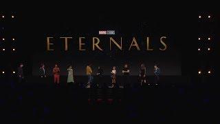 The Eternals - Angelina Jolie & Salma Hayek - D23 Expo - Marvel Studios Panel 2019