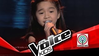 "The Voice Kids Philippines Blind Audition  ""Girl on Fire"" by Darlene"