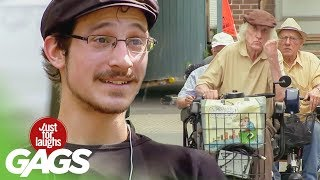 Badass Grandpa - Best of Just For Laughs Gags