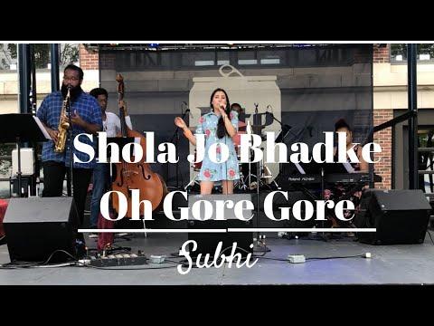Shola Jo Bhadke Dil Mera Dhadke | Oh Gore Gore Banke Chhore | Bollywood Jazz Cover