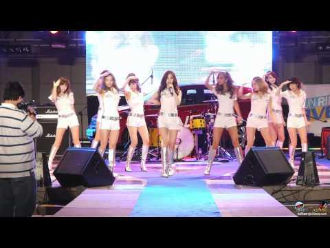 2011/05/17 한양대 축제 소녀시대 - Run Devil Run 직캠 by DaftTaengk